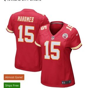 Mahomes Kansas City Jersey Women's Small NWT